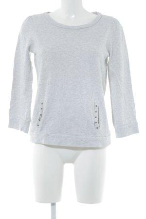 Kookai Suéter gris claro look casual