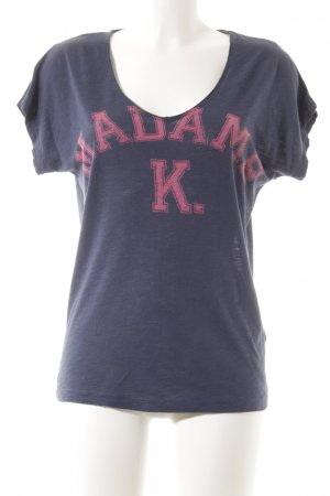 Kookai T-Shirt blau Casual-Look