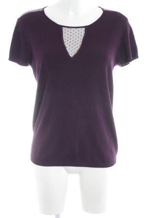 b89f7e91be Kookai T-Shirt purple casual look