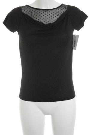Kookai T-Shirt schwarz Casual-Look