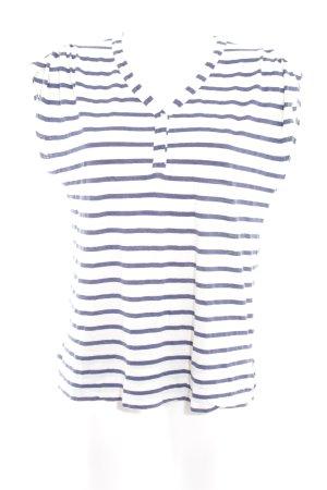 Kookai T-Shirt wollweiß-dunkelblau Streifenmuster klassischer Stil