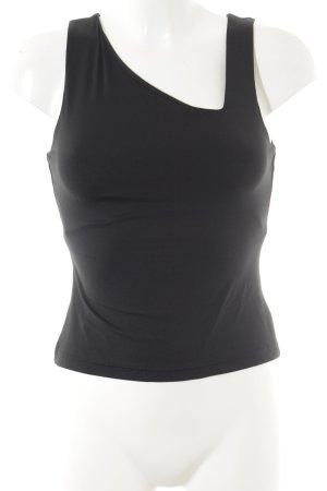 Kookai Camiseta sin mangas negro look casual