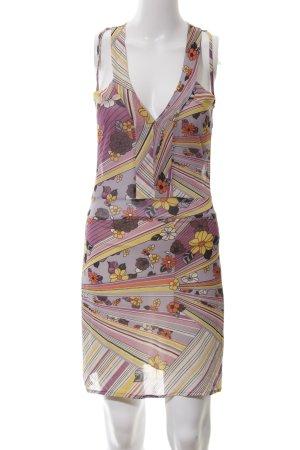 Kookai Vestido tipo overol estampado con diseño abstracto look casual