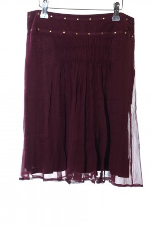 Kookai Tulle Skirt lilac-red casual look