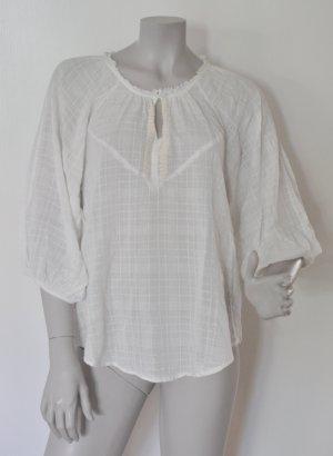 Kookai Tunika Bluse Baumwolle off-white Gr. 36 – passend auch mit 38
