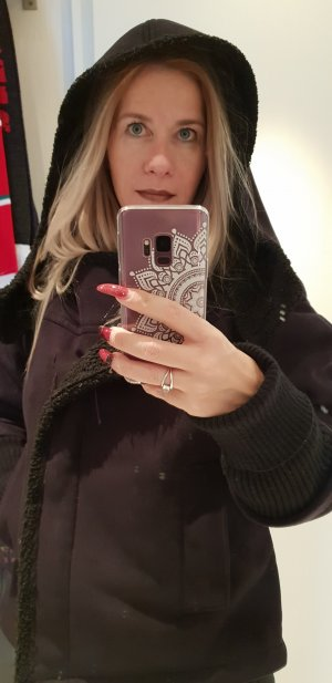 Kookai Chaqueta de invierno negro