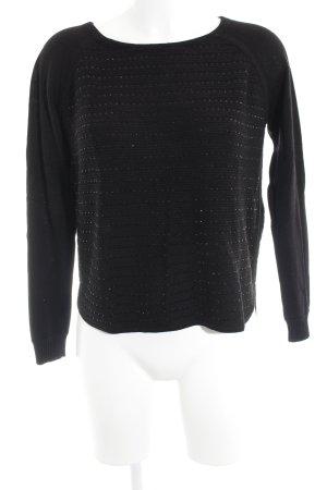 Kookai Pull en laine noir style décontracté
