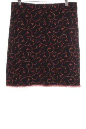 Kookai Falda de lana estampado floral estilo extravagante