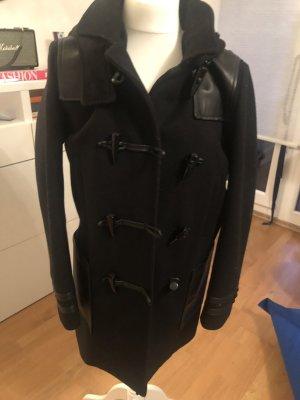 The Kooples Duffel Coat black wool