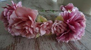 Accessorio per capelli rosa antico-rosa chiaro
