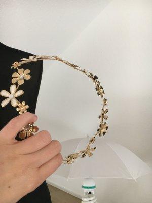 Kopfschmuck Haarband Krone gold Flore Ibiza Hippie Style