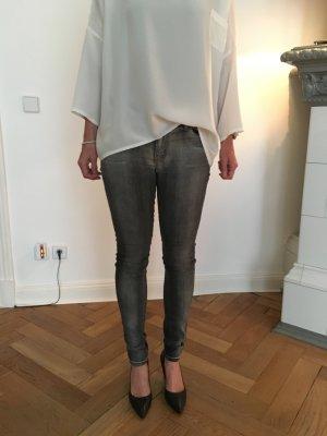 Jeans skinny multicolore coton