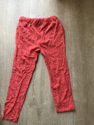 Mango casual Pantalón estilo Harem rojo