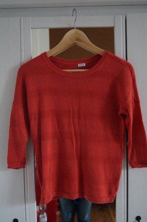 Korall Farbener Pullover Gr.36/38