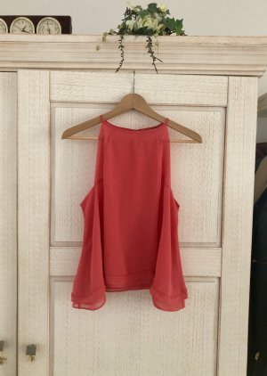 Zara Strappy Top bright red