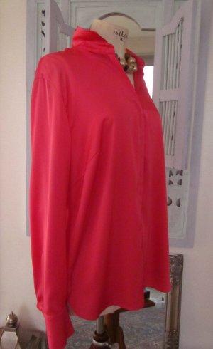 Basler Blouse à manches longues rouge brique-rouge clair polyester