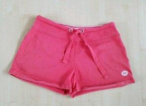 korallenrote Shorts zum Schlafen oder für den Sport in Größe M