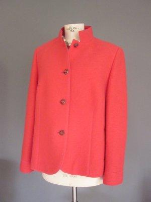Basler Blazer en laine rouge-rouge clair laine vierge