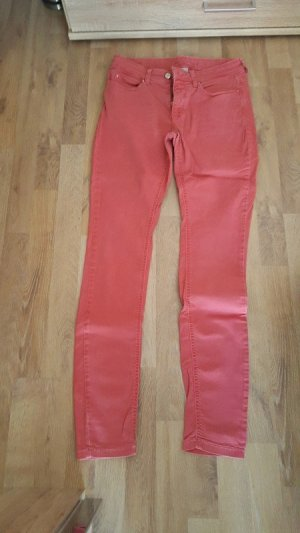 MAC Jeans Tube jeans zalm-lichtrood