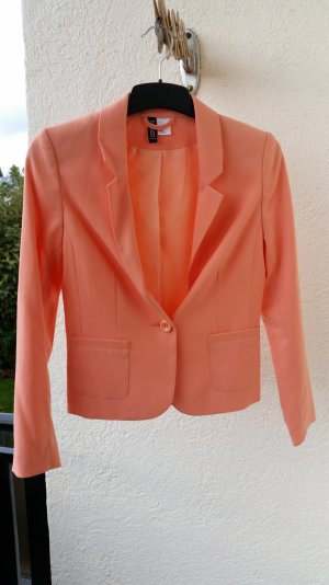 korallfarbener Blazer von H&M
