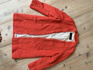 Korallfarbener Mantel von Zara sale