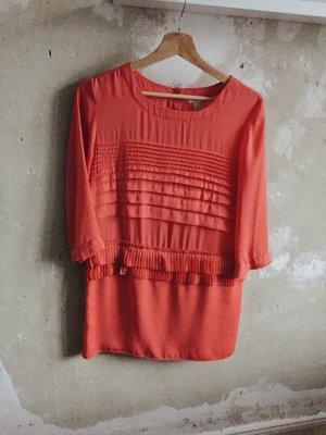Korallfarbenes Kleid von H&M