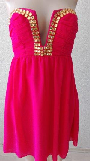 Korallfarbenes Kleid von Lipsy