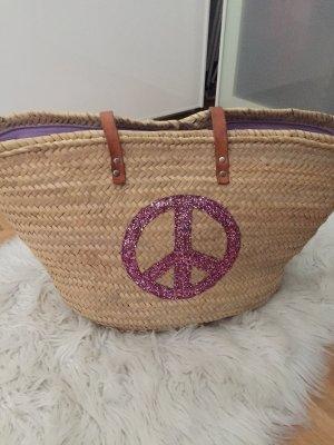 Basket Bag beige-pink
