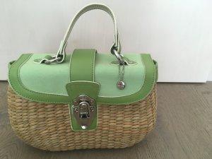 Esprit Bolso tipo cesta marrón arena-verde claro