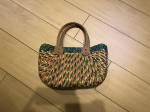 Basket Bag blue-pink