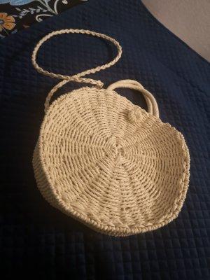 Primark Bolso tipo cesta beige claro