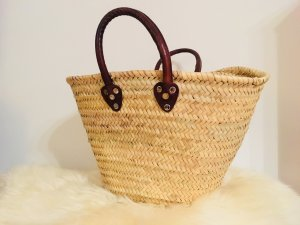 Basket Bag brown-oatmeal