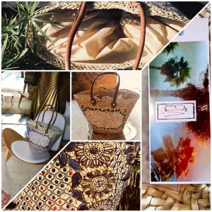 Korbtasche Beachbag Sophie by PiA Ibiza St. Tropez Bohostyle Fair Trade Organic Production