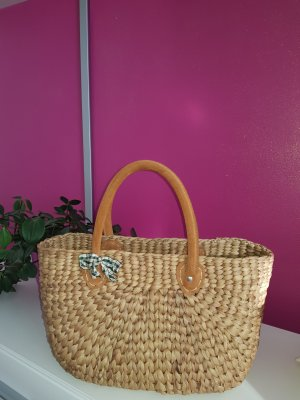 Basket Bag light brown-cognac-coloured