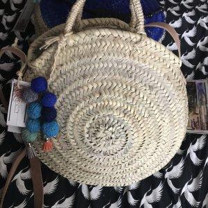 Korbtasche Circlebag Ibiza Bohostyle Greenfashion Fairtrade neu