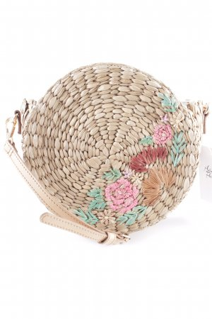 Basket Bag multicolored beach look