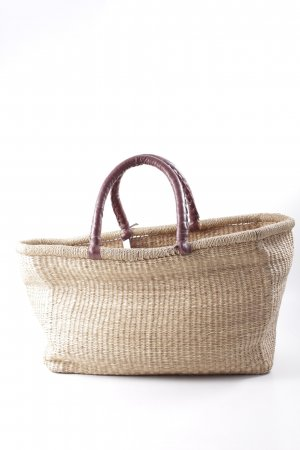 Basket Bag sand brown beach look