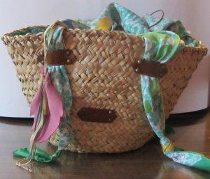 Patrizia Pepe Shoulder Bag turquoise-nude