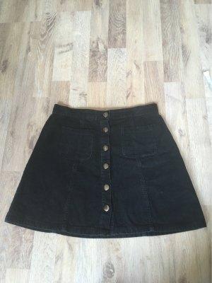 Cooperative Falda de talle alto negro