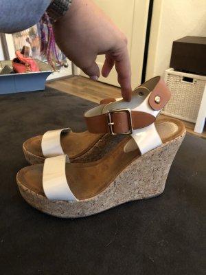 Kork Wedges , Keilabsatz Sandalen