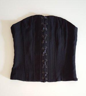 H&M Haut type corsage noir