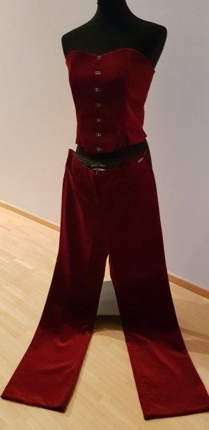 Korsage und Hose aus Samt von Nicowa
