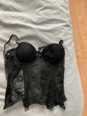 H&M Corsage black