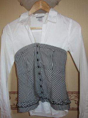 Orsay Smanicato reversibile bianco-nero Cotone