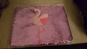 Kosmetic tasche pailliette flamingo