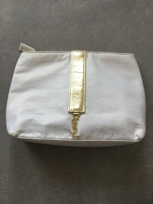 Yves Saint Laurent Mini Bag natural white polyester