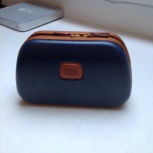 Bric's Cosmeticabox donkerblauw-bruin