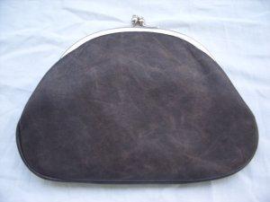 Mini Bag taupe imitation leather