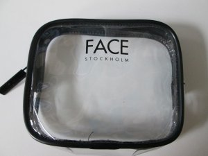 Kosmetiktasche  Geldbeutel Face Stockholm clean chic transparent