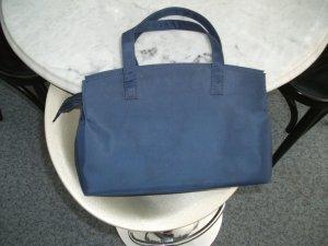 Equipaje azul oscuro Material sintético
